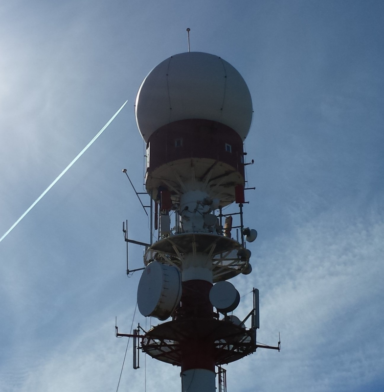AEMET weather radar - Torre Jata (Biscay, Basque Country). 10 years of study (2010 - 2019)