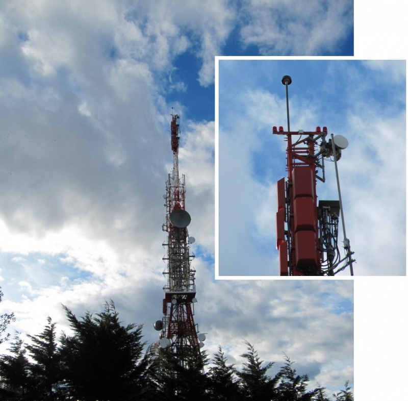 Jaizkibel telecommunications tower (Basque Country, Spain). 5 years of study (2015 -2019)