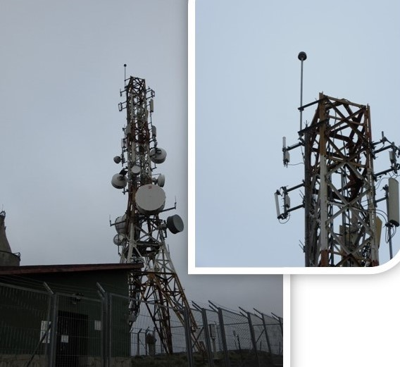 Orduña telecommunications tower (Basque Country, Spain). 5 years of study (2015 - 2019)